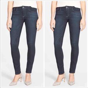 Wit & Wisdom Skinny Dark Wash Jeans Stretch